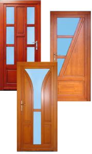 Bejárati ajtó fa 1